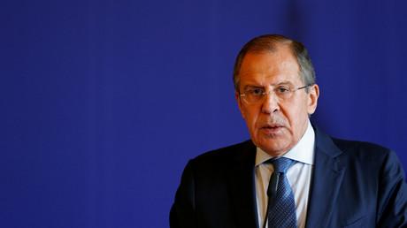 Le ministre des Affaires étrangères russe Sergueï Lavrov.