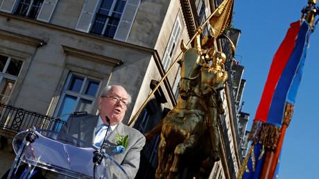 Jean-Marie le Pen lors du 1er mai