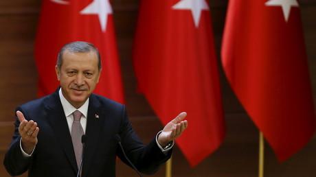 Le président turc Recep Erdogan