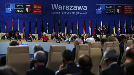 Sommet de l'OTAN à Varsovie, le 8 juillet.