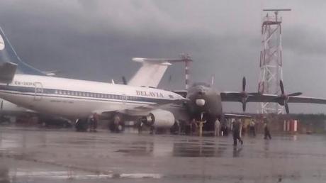 Un orage a provoqué une collision entre deux avions à l'aéroport de Minsk (IMAGES CHOC)