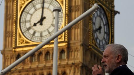 Jeremy Corbyn, chef du Parti travailliste du Royaume-Uni