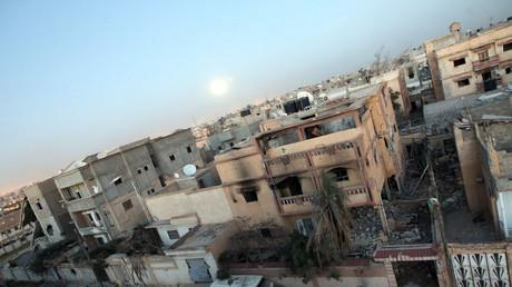 La ville de Benghazi, en Libye.