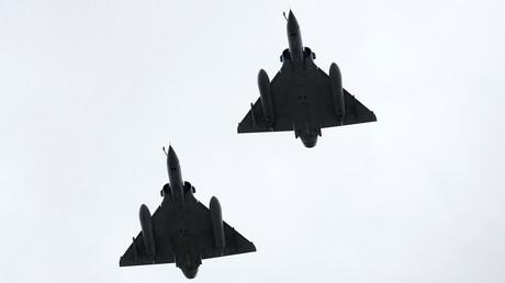 Des chasseurs français Mirage 2000