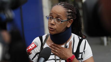 Mama Traoré, l'une des soeurs d'Adama, marchera au côté de ses proches dans les rues de Beaumont-sur-Oise le 22 juillet