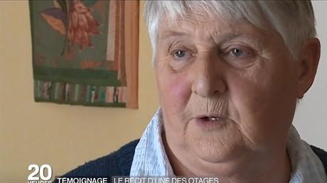 Sœur Danielle, rescapée de Saint-Etienne-du-Rouvray.