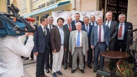 Les parlementaires française en route pour la Crimée