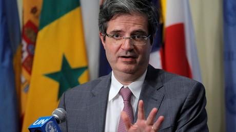 Le représentant français au Conseil de Sécurité, François Delattre, s'est réjoui de la décision