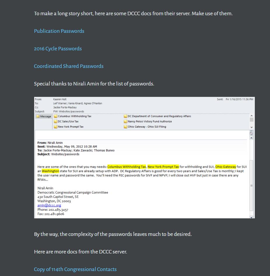 Etats-Unis : un hacker publie les adresses mail et numéros de téléphone des démocrates du Congrès