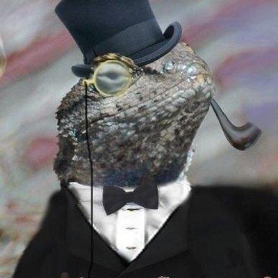 Le personnage représentant le groupe de Hackers Lizard Squad