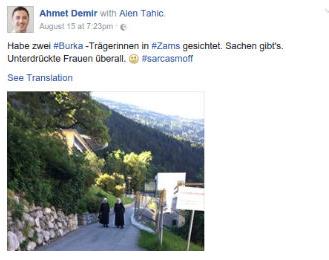 Un homme politique autrichien compare habit des nonnes et burqa et fait scandale