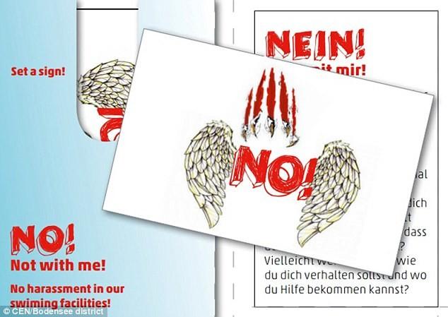 Allemagne : distribution de tatouages dans les piscines pour éviter les viols (PHOTOS)