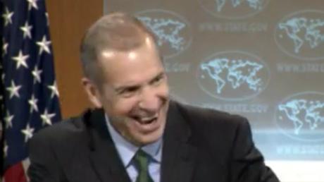 Etats-Unis : pour le porte-parole du département d'Etat, la transparence est hilarante (VIDEO)