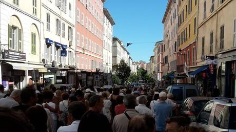 Corse : «Marche blanche contre la barbarie» à Bastia, sur fond de tensions communautaires (PHOTOS)