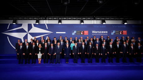 Les chefs d'Etat membres de l'OTAN lors du dernier sommet de l'Alliance à Varsovie
