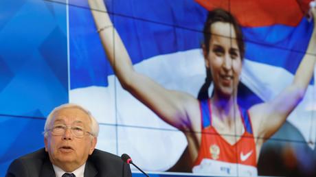 Président du Comité paralympique russe Vladimir Loukine lors d'une conférence de presse à Moscou