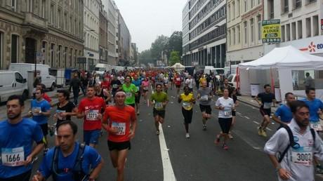 La course du semi-marathon de Lille