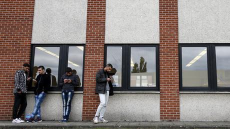 Un centre d'hébergement pour refugiées à Namur, en Belgique