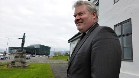 Le Premier ministre islandais Sigurdur Ingi Johannsson
