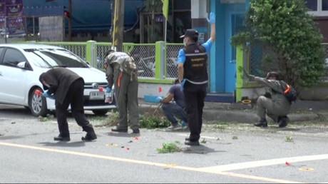 Au moins deux suspects arrêtés en Thaïlande après une série d'explosions meurtrières