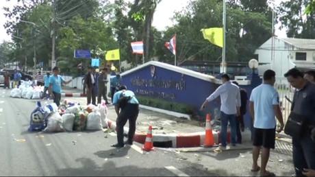 Série d'explosions en Thaïlande pendant la nuit, au moins deux blessés