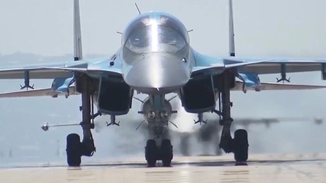 Un bombardier russe Su-34
