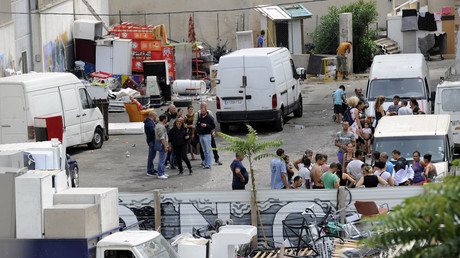 Attaques au katana et au cocktail Molotov d'un squat rom dans les quartiers nord de Marseille