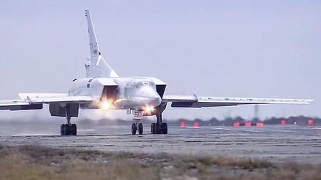 Un bombardier stratégique russe Tupolev Tu-22 M3