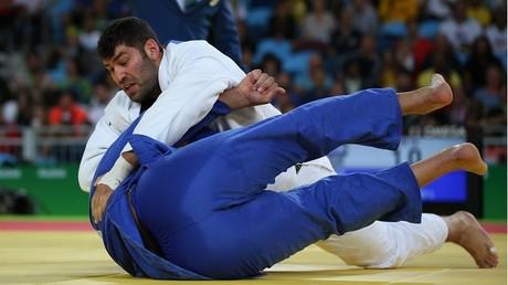 Les deux judokas en action le 12 août 2016