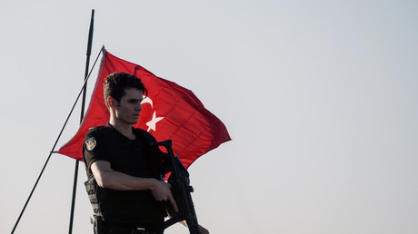 Un soldat de l'armée turque, en juillet 2016.