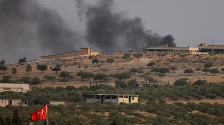 Oprération turque à la frontière turco-syrienne