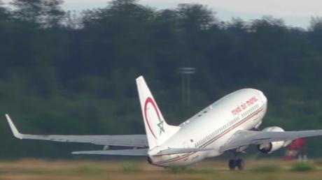 Un Boeing de Royal Air Maroc à deux doigts de rater son décollage (VIDEO)