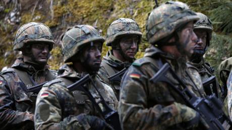 Des soldats de la Bundeswehr.