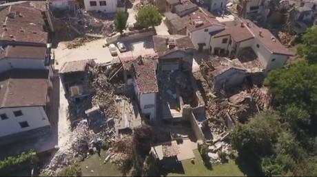Le village italien d'Amatrice