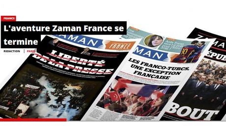 Se disant victime de menaces, le journal franco-turc Zaman France, réputé proche de Gülen, s'arrête