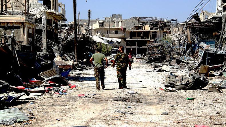 Les troupes de l'armée syrienne au sud d'Alep