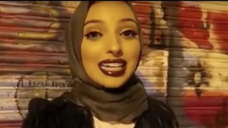 Hijab   une jeune femme voilée devient la nouvelle égérie de Playboy ... 51790d01b5a