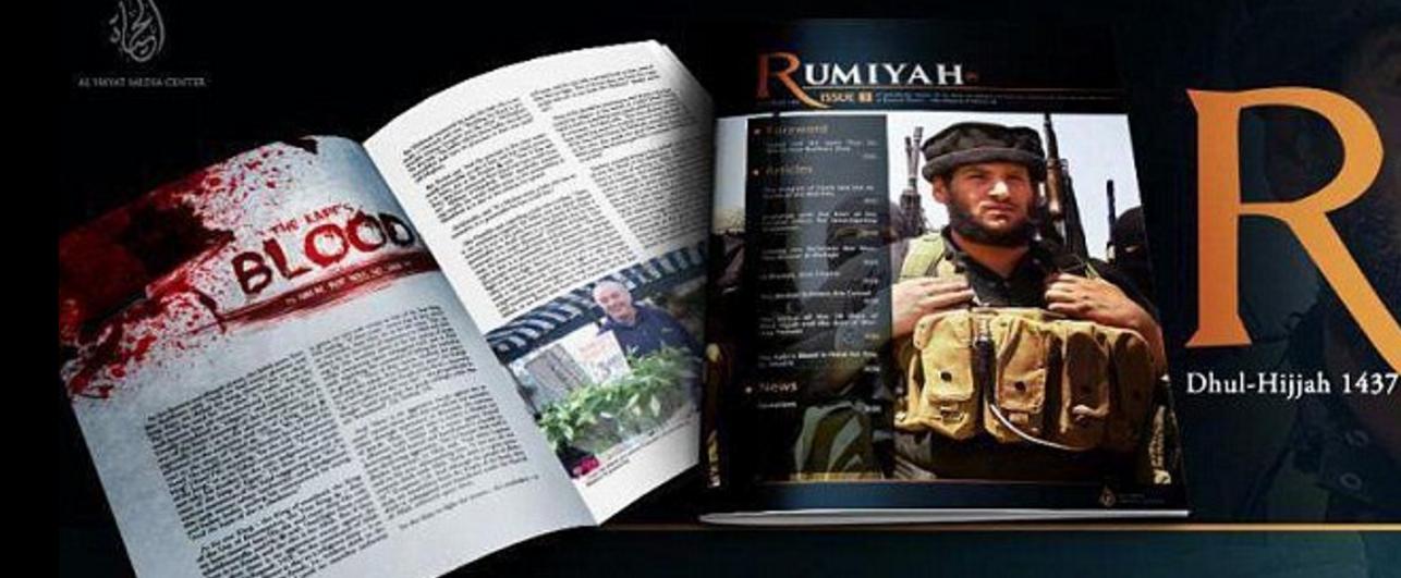 Only in London : le fleuriste de David Beckham se retrouve en photo dans un magazine de Daesh