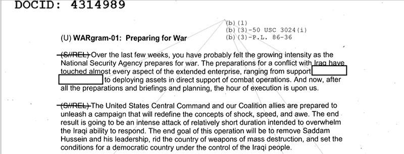 «WARgrams» : comment la NSA a instrumentalisé la guerre contre le terrorisme pour gagner le monde