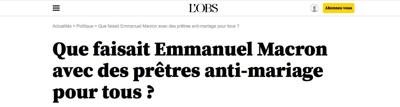 Macron par-ci, Macron par-là : quand les médias cèdent à la Macron-mania