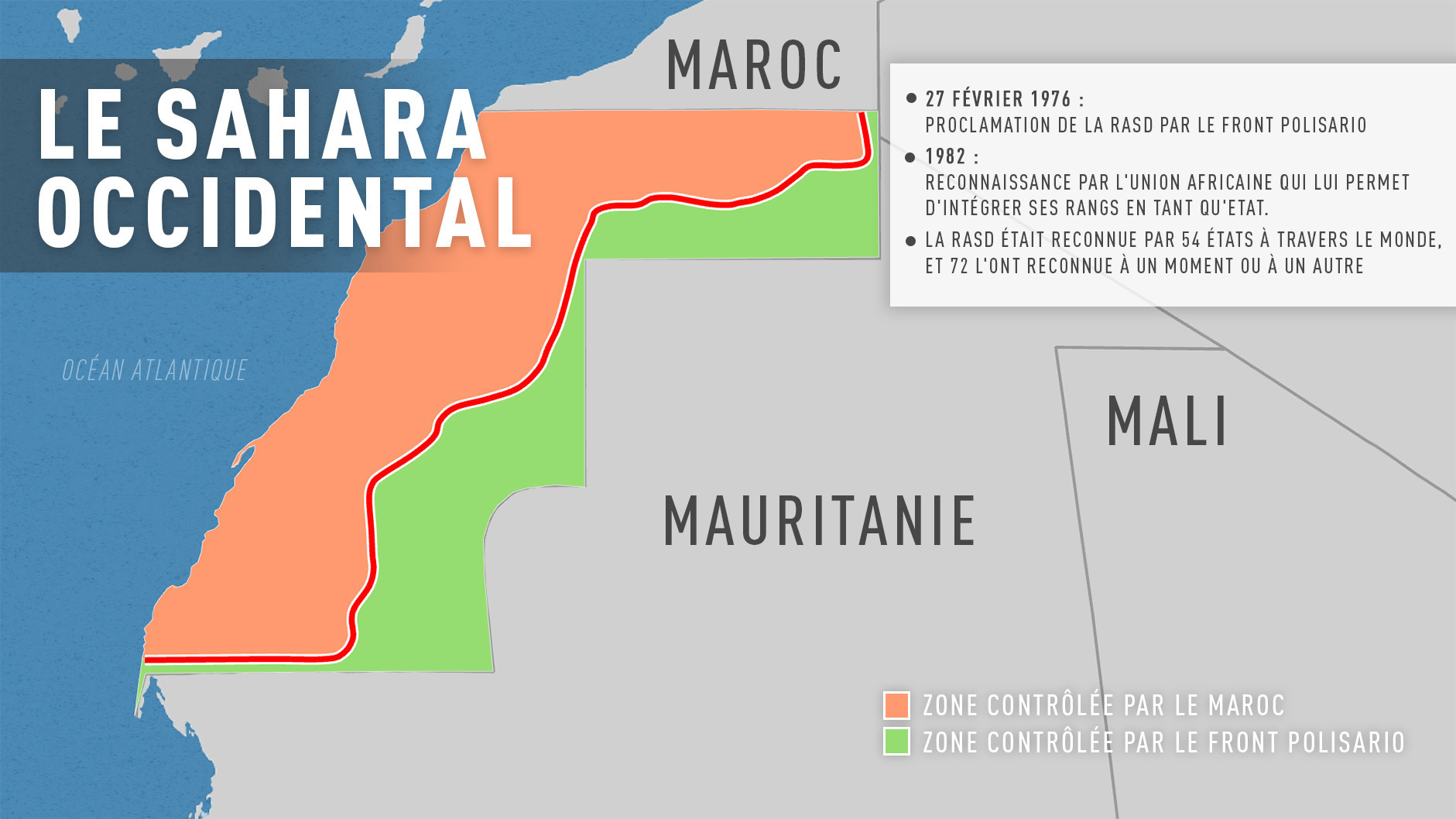 La Cour de justice de l'UE estime que le Sahara occidental ne fait pas partie du territoire du Maroc