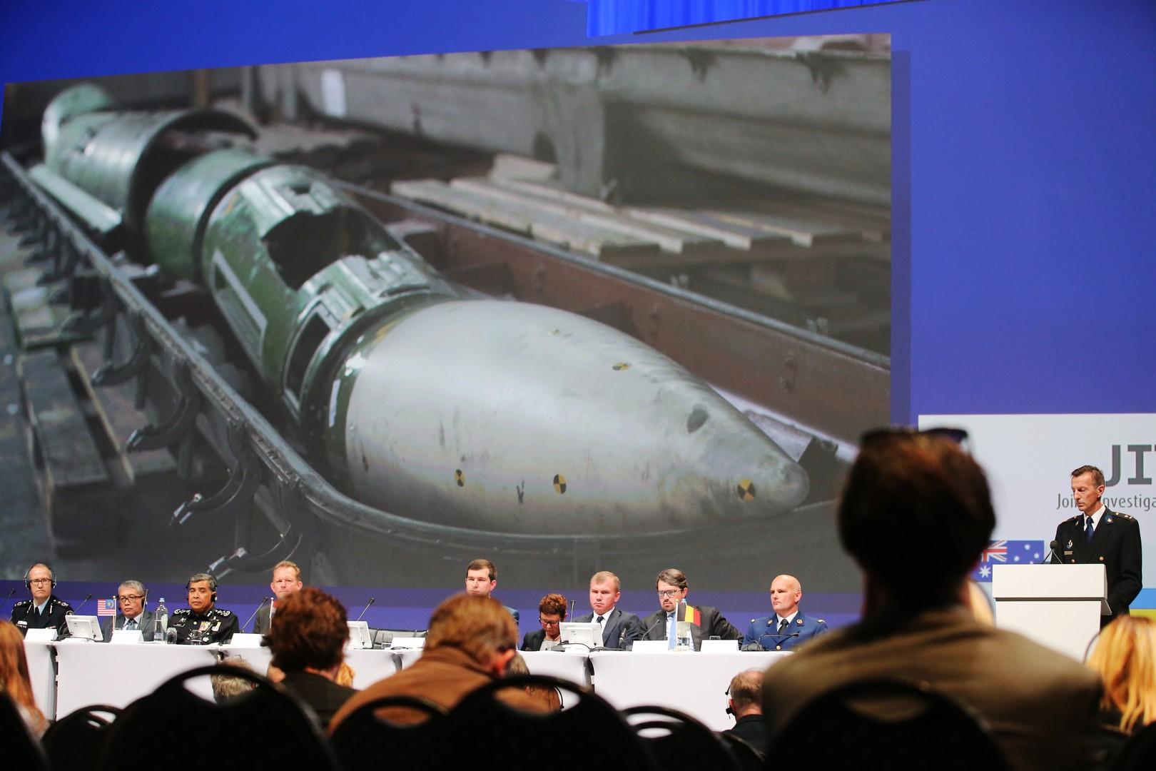 Enquêteurs néerlandais : les rebelles du Donbass ont abattu le MH17 avec un système Bouk russe