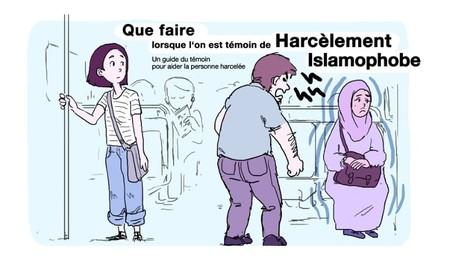 Un nouveau guide illustré apprend aux passants à réagir en cas de «harcèlement islamophobe»