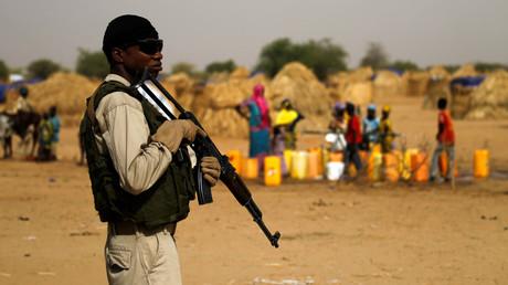 Un soldat au Niger