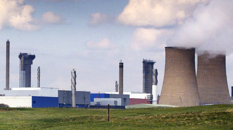 Le site de traitement des déchets nucléaires de Sellafield
