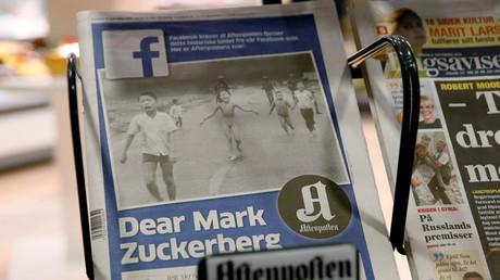 Facebook fait scandale en censurant une photo iconique de la Guerre du Vietnam puis se ravise