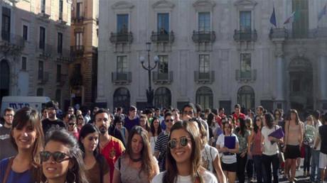 Université de Catane, en Sicile. Site internet de l'université. DR