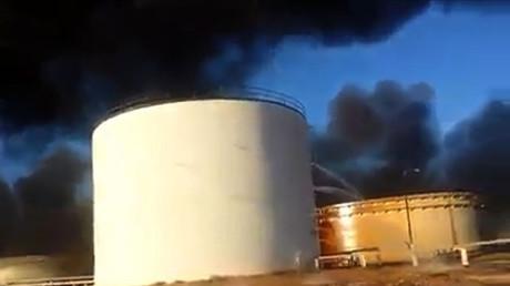 Le terminal pétrolier al-Sedra (ici en janvier 2016).