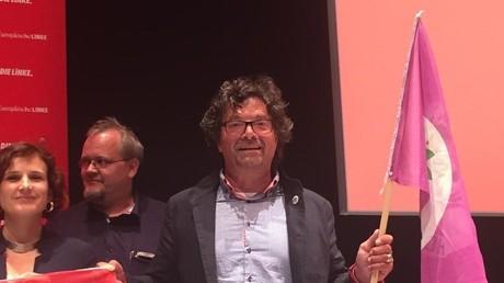 Le député allemand Diether Dehm.