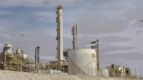Le terminal pétrolier de Brega, en Libye